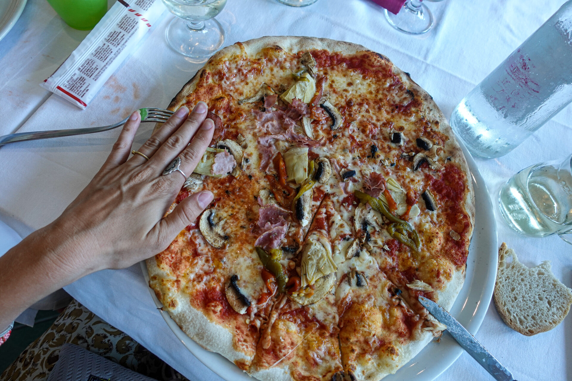 Pizzarestaurant i Varazze